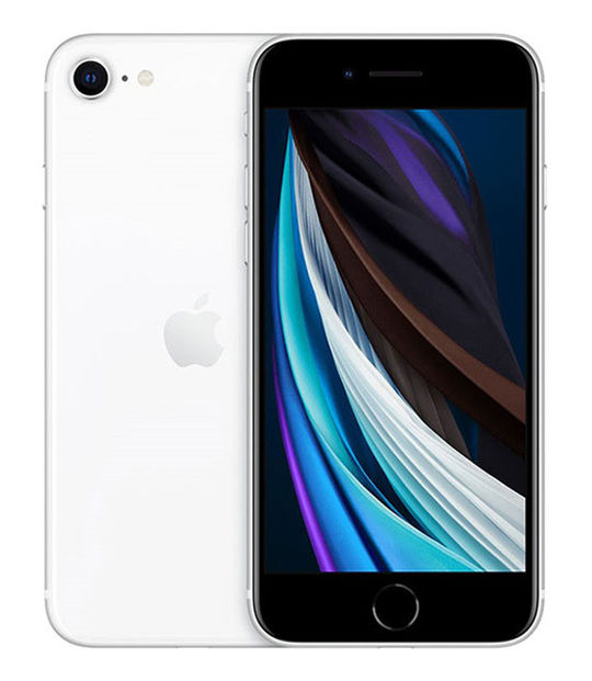 【中古】【安心保証】 docomo iPhoneSE 第2世代[128G] ホワイト SIMロック解除済