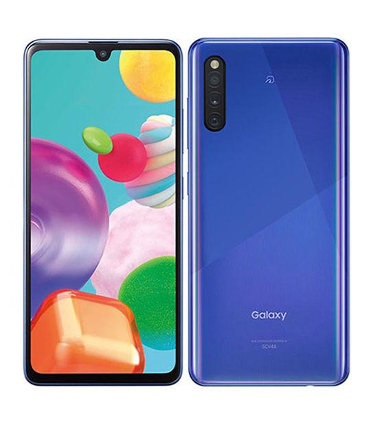 Galaxy A41 SCV48(ブルー)