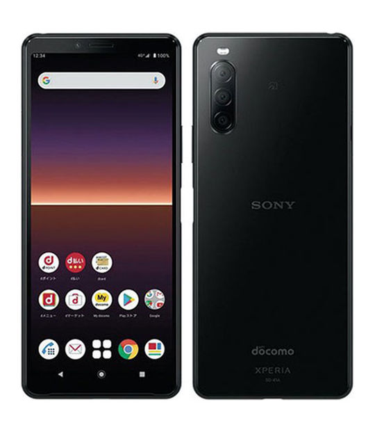 Xperia 10 II SO-41A(ブラック)