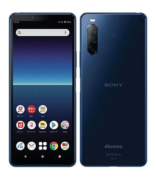 Xperia 10 II SO-41A(ブルー)