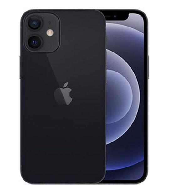 【中古】【安心保証】 docomo iPhone12mini[64G] ブラック