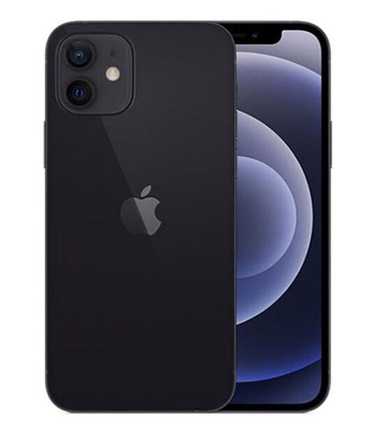 【中古】【安心保証】 au iPhone12[64G] ブラック