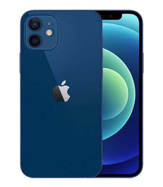 【中古】【安心保証】 au iPhone12[128G] ブルー