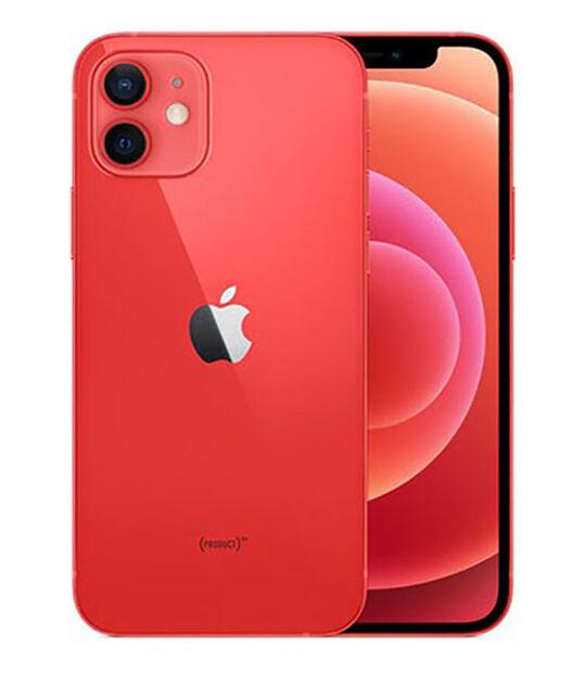 【中古】【安心保証】 SoftBank iPhone12[64G] レッド