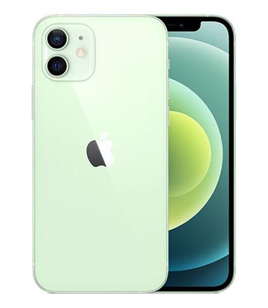 【中古】【安心保証】 SoftBank iPhone12[128G] グリーン
