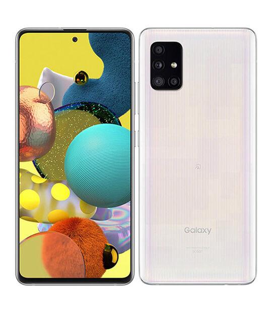 Galaxy A51 5G SCG07(プリズムブリックスホワイト)
