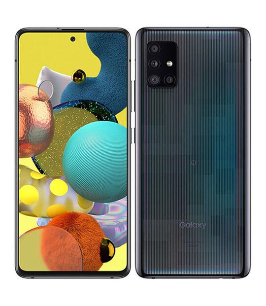 Galaxy A51 5G SCG07(プリズムブリックスブラック)