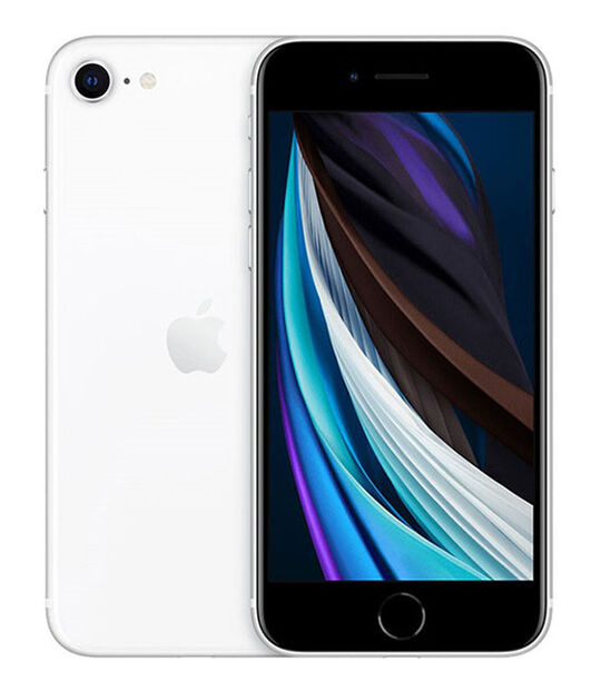 【中古】【安心保証】 SIMフリー iPhoneSE 2[256G] ホワイト