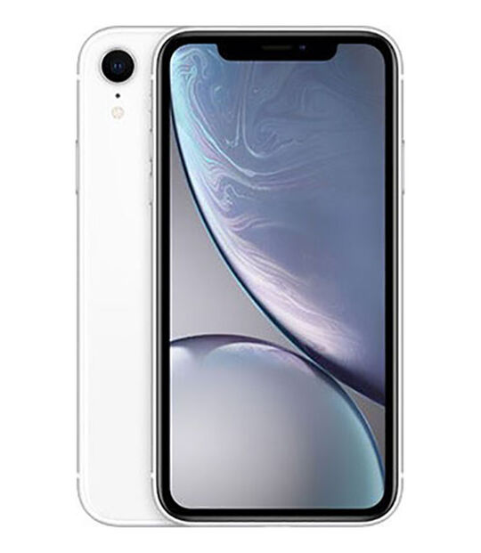 【中古】【安心保証】 SIMフリー iPhoneXR[256G特価品] ホワイト