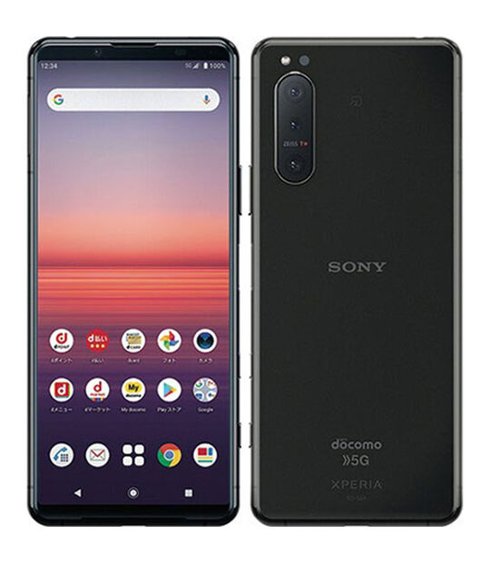 Xperia 5 II SO-52A(ブラック)