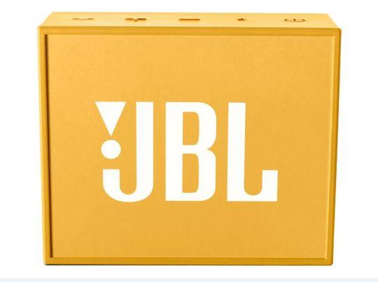 【新品】JBL GO ポータブルスピーカー イエロー/JBL