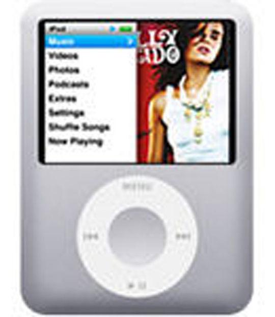 【中古】【安心保証】 iPodnano3[4GB](シルバー) MA978J