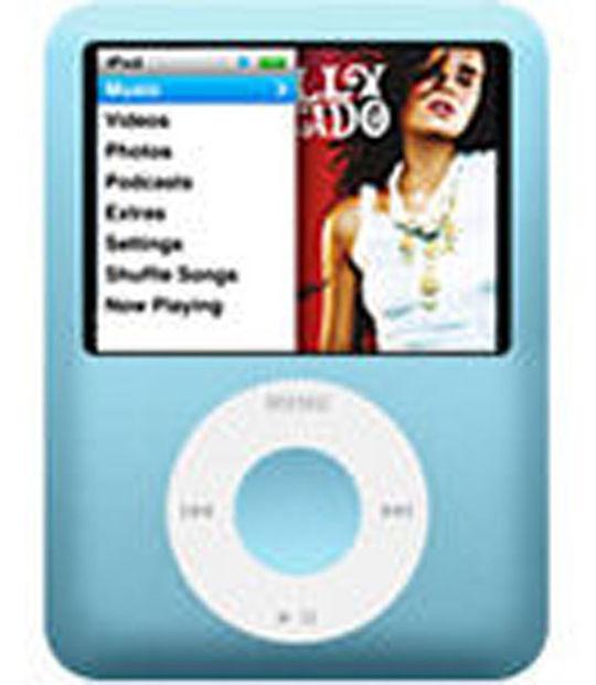 【中古】【安心保証】 iPodnano3[8GB](ブルー) MB249J