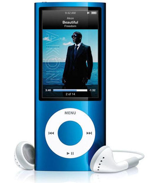 【中古】【安心保証】 iPodnano5[8GB](ブルー)MC037J
