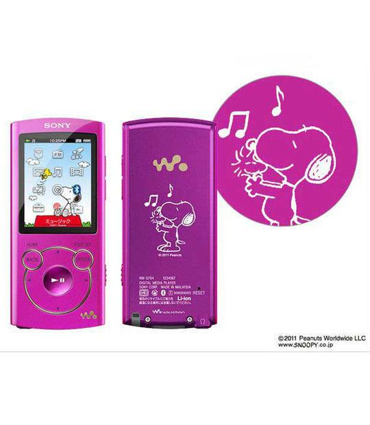 【中古】【安心保証】 S760シリーズ[16GB](ピンク)NW-S765/Snoopy