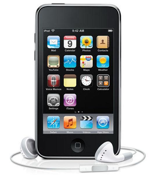 【中古】【安心保証】 iPodtouch2[8GB](ブラック) MC086J