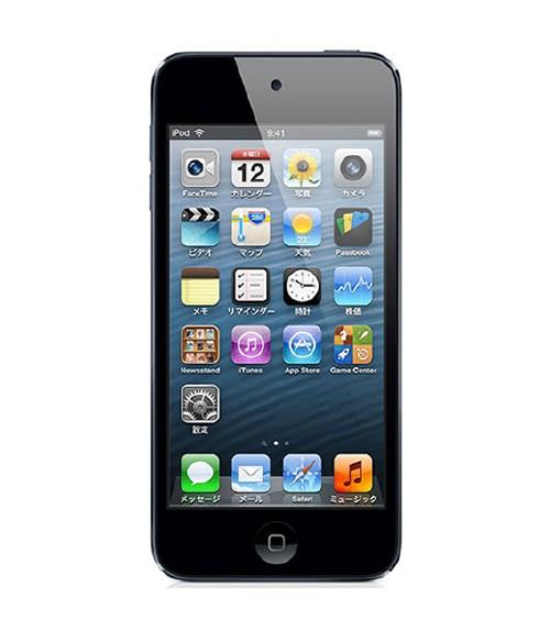 【中古】【安心保証】 iPodtouch5[32GB](ブラックスレー) ND723J