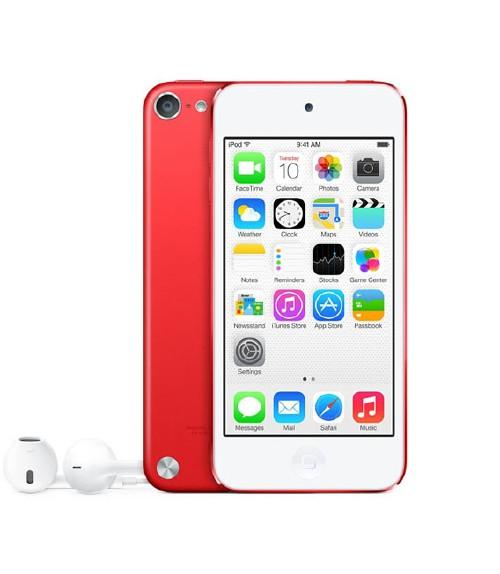 【中古】【安心保証】 iPodtouch5[32GB](レッド) PD749J