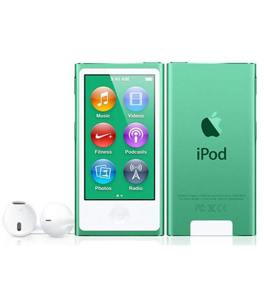 【中古】【安心保証】 iPodnano7[16GB](グリーン)MD478J