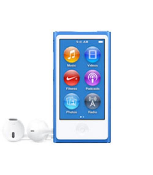 【中古】【安心保証】 iPodnano7[16GB](ブルー)MKN02J