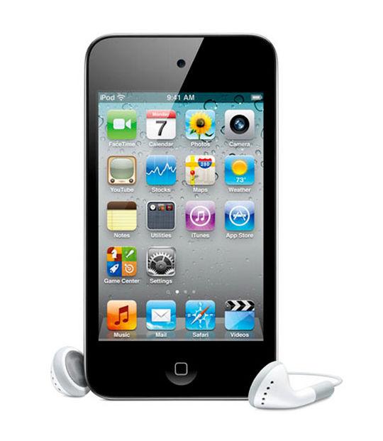 【中古】【安心保証】 iPodtouch4[32GB](ブラック)MC544J