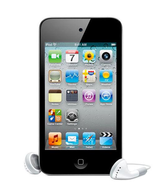 【中古】【安心保証】 iPodtouch4[64GB](ブラック)MC547J