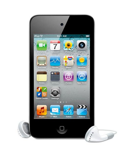 【中古】【安心保証】 iPodtouch4[8GB](ブラック)MC540J