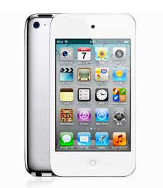 【中古】【安心保証】 iPodtouch4[8GB](ホワイト) MD057J