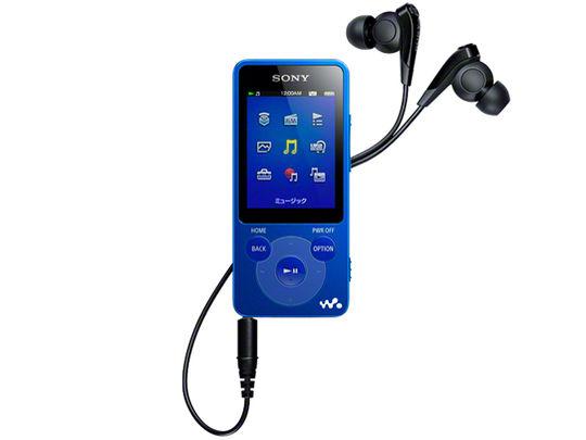 【中古】【安心保証】 E080シリーズ[4GB](ブルー)NW-E083