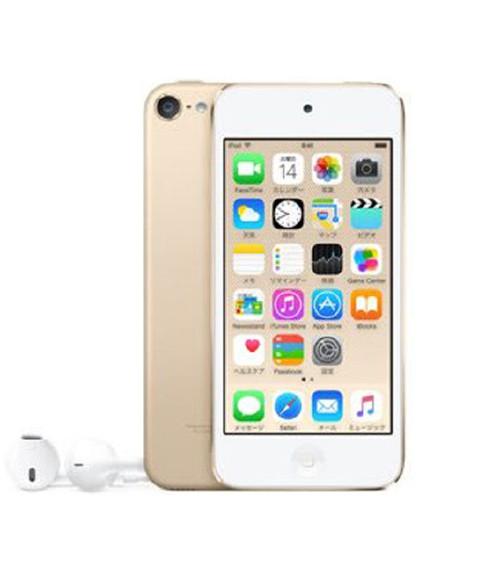 【中古】【安心保証】 iPodtouch6[16GB](ゴールド)MKH02J