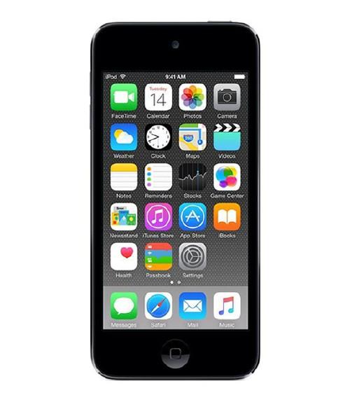 【中古】【安心保証】 iPodtouch6[16GB](スペースグレイ)MKH62J