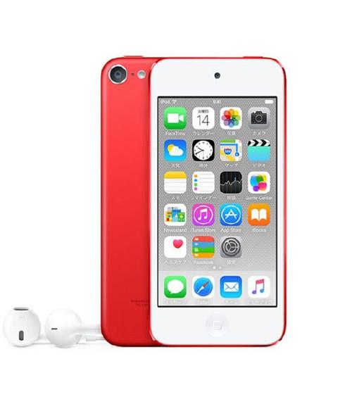 【中古】【安心保証】 iPodtouch_6[32GB](レッド)MKJ22J