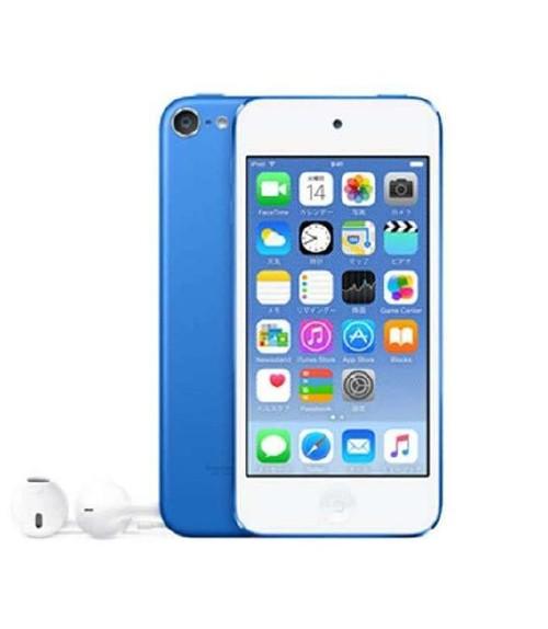 【中古】【安心保証】 iPodtouch6[128GB](ブルー)MKWP2J