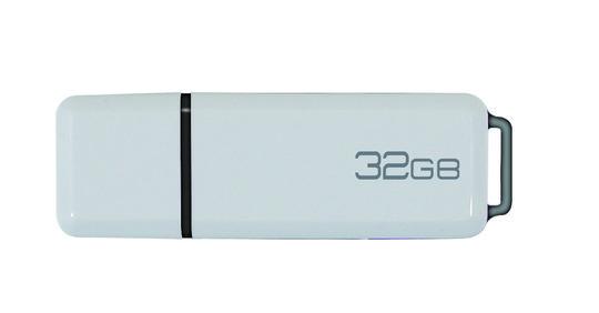 USB2.0フラッシュメモリー 32GB GRFD-UFM01-32 WH ホワイト
