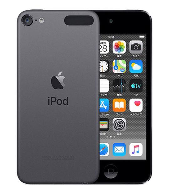 【中古】【安心保証】 DAP>iPodtouch7[128GB](スペースグレイ)MVJ62J