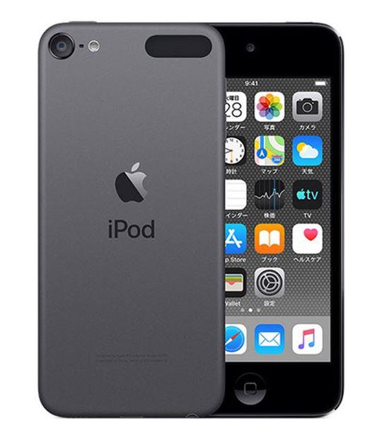 【中古】【安心保証】 DAP>iPodtouch7[256GB](スペースグレイ)MVJE2J