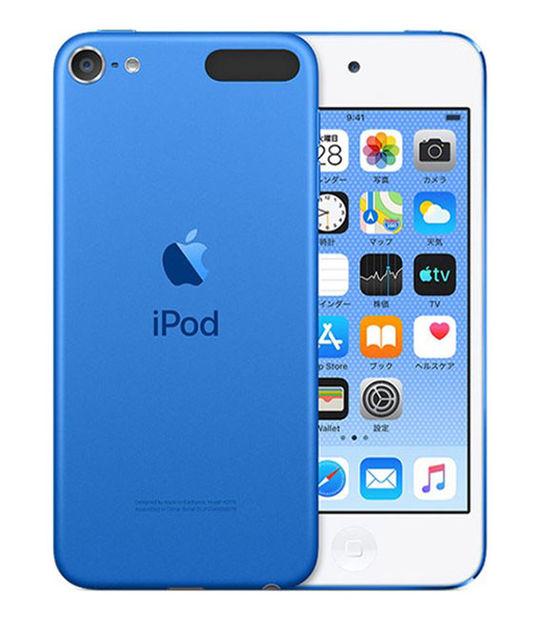 【中古】【安心保証】 DAP>iPodtouch7[256GB](ブルー)MVJC2J