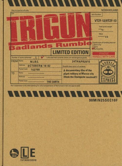 【中古】トライガン TRIGUN Badlands Rumble (劇) 【ブルーレイ】/小野坂昌也