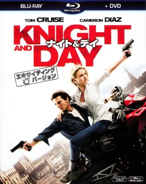 【中古】初限)ナイト&デイ エキサイティングバージョン BD&DVDセット 【ブルーレイ】/トム・クルーズ