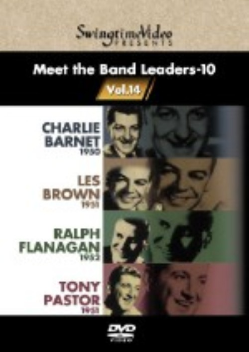 【中古】10.Meet the Band Leaders 【DVD】/チャーリー・バーネット