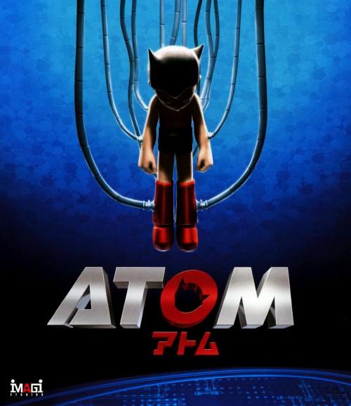 【中古】ATOM 【ブルーレイ】/フレディ・ハイモア