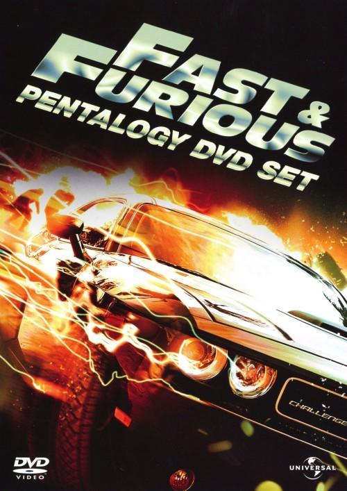 【中古】ワイルド・スピード ペンタロジー 【DVD】/ポール・ウォーカー