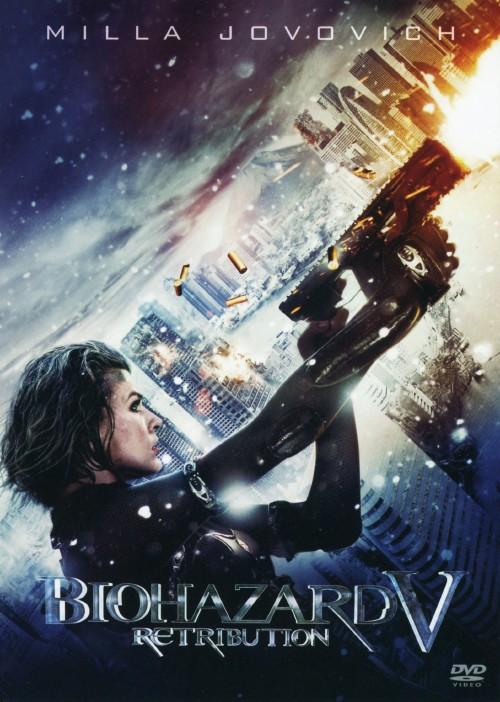 【中古】5.バイオハザード リトリビューション 【DVD】/ミラ・ジョヴォヴィッチ