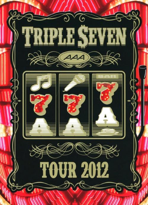 【新品】AAA/TOUR 2012 -777- TRIPLE SEVEN 【DVD】/AAA