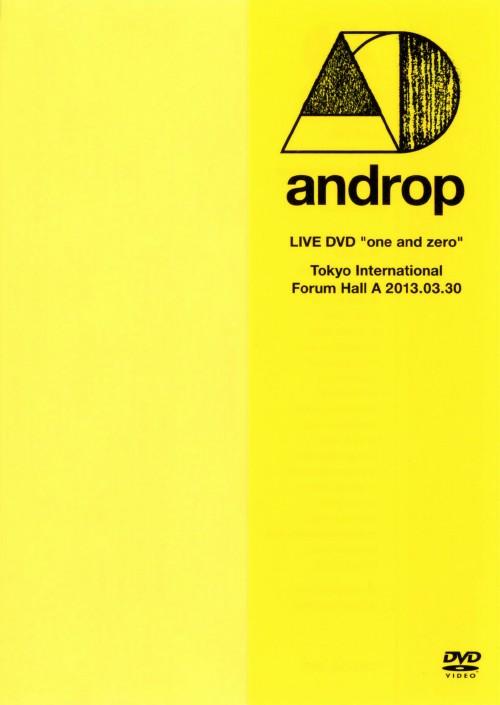 【中古】androp/LIVE DVD one and zero @Tokyo I… 【DVD】/androp