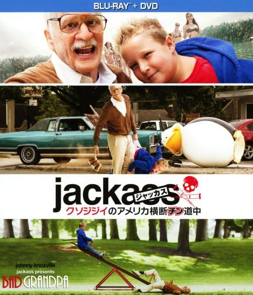 【中古】ジャッカス/クソジジイのアメリカ横断チン…BD+DVDセット 【ブルーレイ】/ジョニー・ノックスヴィル