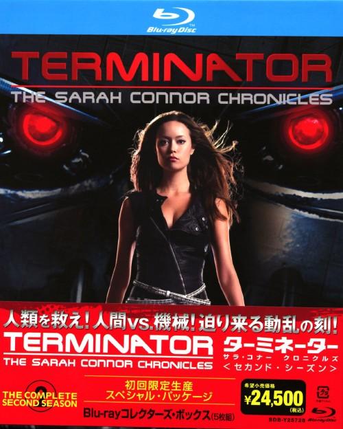 【中古】ターミネーター:サラ・コナー クロニクルズ 2nd コレクターズ・BOX 【ブルーレイ】/レナ・ヘディ