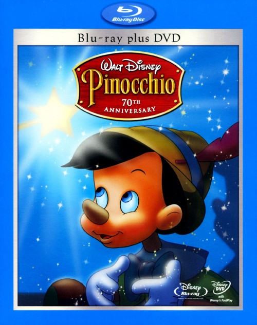 【中古】期限)ピノキオ プラチナ・ED BD・プラス・DVDセット 【ブルーレイ】/ディック・ジョーンズ
