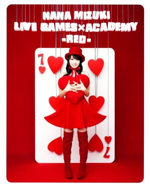 【中古】NANA MIZUKI LIVE GAMES×ACADEMY -RED- 【ブルーレイ】/水樹奈々