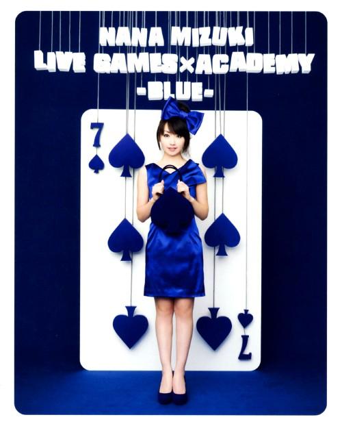 【中古】NANA MIZUKI LIVE GAMES×ACADEMY -BLUE- 【ブルーレイ】/水樹奈々